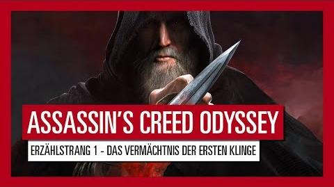 AUT ASSASSIN'S CREED ODYSSEY ERZÄHLSTRANG 1 - DAS VERMÄCHTNIS DER ERSTEN KLINGE