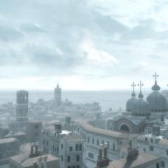 远眺圣马可教堂