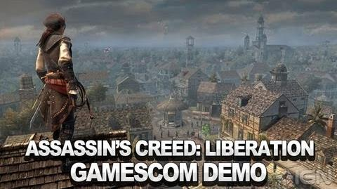 Assassin's Creed III Liberation - A Faithful Acolyte (Alternative Run) - Gamescom 2012