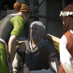 Sofia, Flavia e Ezio - Assassin's Creed: Embers