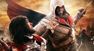 Assassins creed brotherhood fight-wallpaper-2048x1152