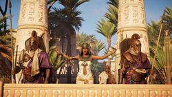 Cleópatra discurso