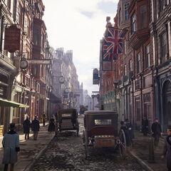 O distrito da Cidade de Londres