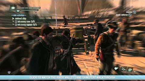 Assassin's Creed Rogue Arctic Naval Gameplay Walkthrough North America