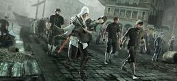 Ezio carrying rosa