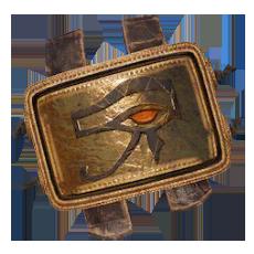 Brasão Dourado - Medjai