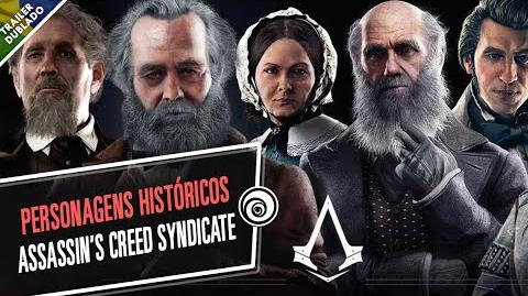 Personagens Históricos de Assassin's Creed Syndicate - DUBLADO