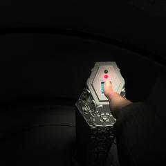 Otso acessando a sala do Inner Sanctum