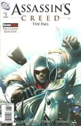 Assassin's Creed The Fall 1 GameStop Cover