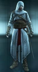 Ezio in Altair Outfit