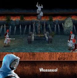 Altaïr catapulta