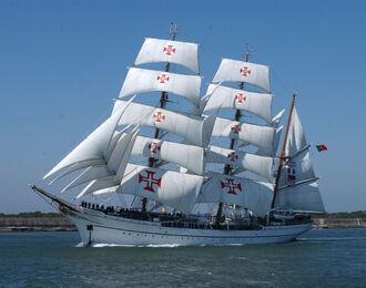 N.R.P. Sagres, navio-escola. Forças Armadas Marinha Portuguesa.
