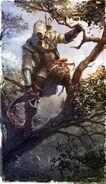 276px-Connor hunter by Okmer
