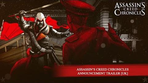 Assassin's Creed Chronicles Announcement Trailer -EUROPE-