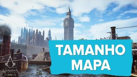 Assassin's Creed Syndicate - Mapa de Londres - London Map