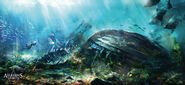 Assassin's Creed IV- Black Flag Underwater Breathing Zone by max qin