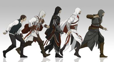 Evolution of ezio by doubleleaf-d3icnak