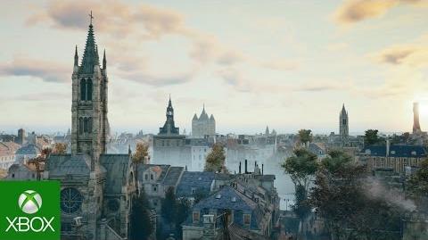 Assassin's Creed Unity Paris Horizon GamesCom Trailer