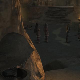 Ezio na prisão de Capadócia