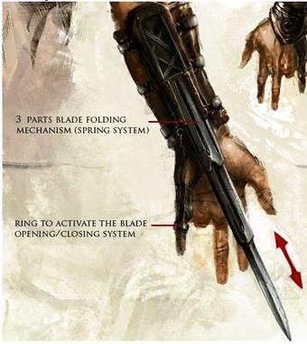 Hidden Blade Assassin S Creed Fanon Fandom