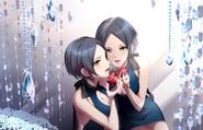 Hatsue mirror pomegranate