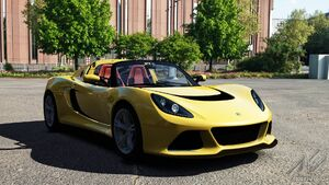 Lotus Exige S Roadster (Solar Yellow)