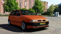 Seat Ibiza (Orange)