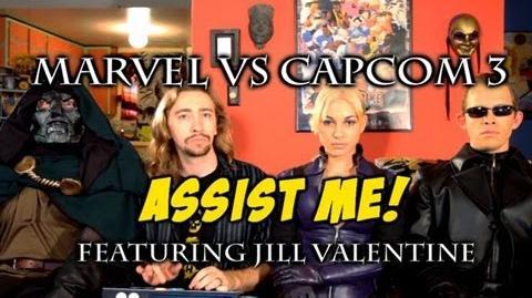 Marvel Vs Capcom 3 'ASSIST ME!' Featuring Jill Valentine TRAILER