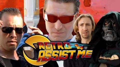 RETRO ASSIST ME! Part 4 (Marvel vs Capcom Origins Tutorial Movie)