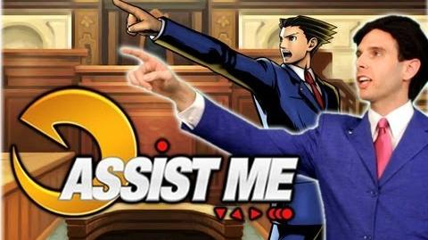'ASSIST ME!' - Phoenix Wright and Iron Fist Ultimate Marvel vs Capcom 3 Live Action Tutorial