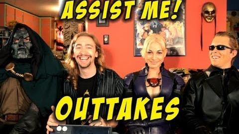 'ASSIST ME!' Jill Outtakes