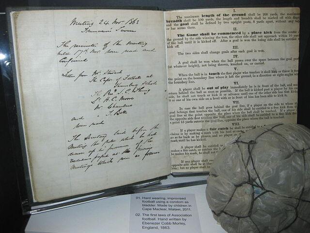 File:Original laws of the game 1863.jpg
