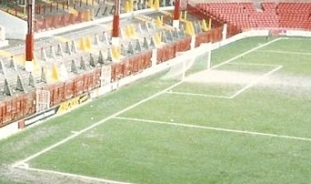 Goal line at Old Trafford 1992