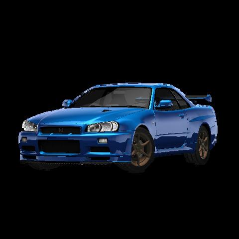 File:Nissan Skyline GT-R VSpec 2 (R34).png