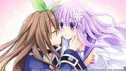 Nepgear and IF yuri