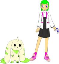Terriermon & Erika