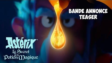 Asterix - The Secret of the Magic Potion - Announcement Trailer