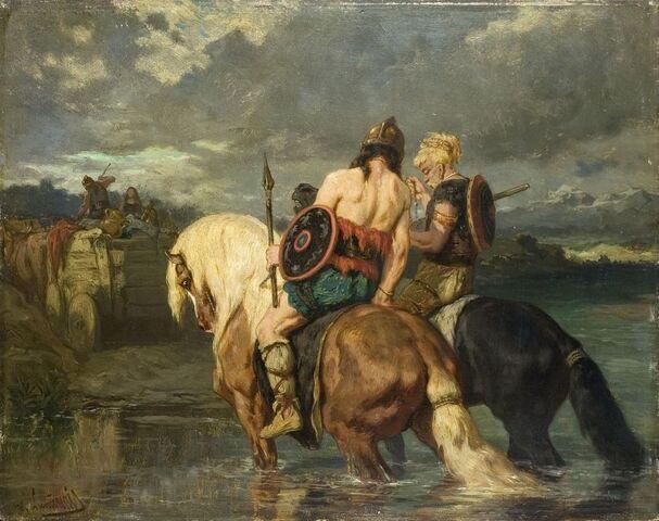 File:Evariste-Vital Luminais - Goths traversant une rivière.jpg