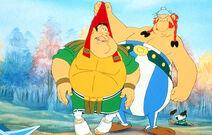 Obelix and Roman Centurion