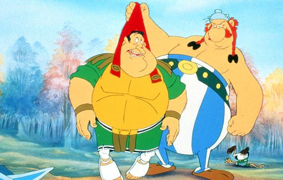 File:Obelix and Roman Centurion.jpg