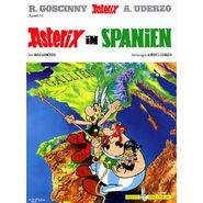 Asterix in Spanien - Cover