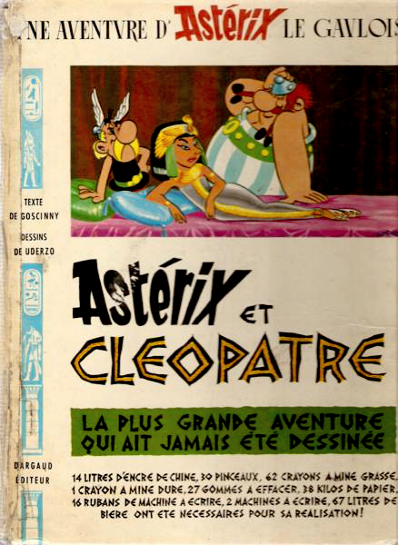 asterix and cleopatra by goscinny and uderzo