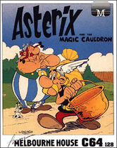 Asterix and the Magic Cauldron Coverart