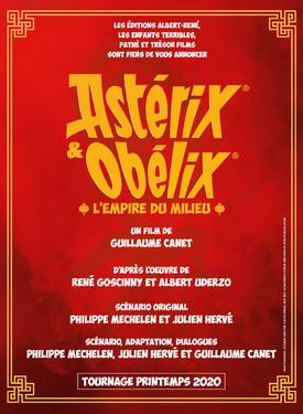 Astérix et Obélix l'empire du milieu