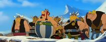 Asterix and Obelix with the Vikings
