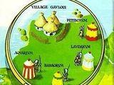 Lista de los campamentos romanos ficticios de Astérix el Galo que aparecen en la serie