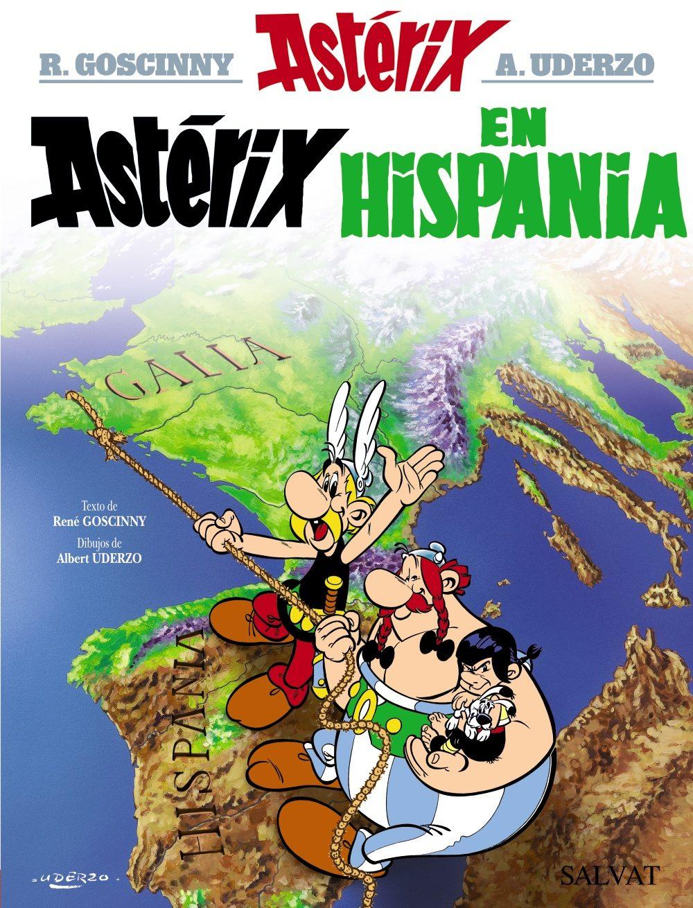 Astérix en Hispania | Aventuras de Astérix, Obélix e Idéfix Wiki ...