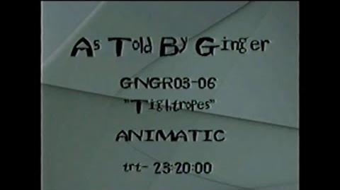 """As Told By Ginger """"A Lesson In Tightropes"""" First Cut Animatic"""