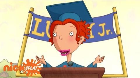 Ginger Foutley's Graduation Speech As Told By Ginger NickSplat