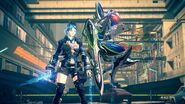 027 - Astral Chain Female Protagonist with Melee Legion